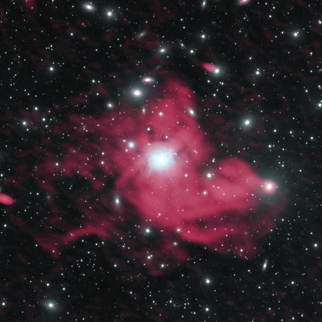 ペルセウス座銀河団のミニハロー