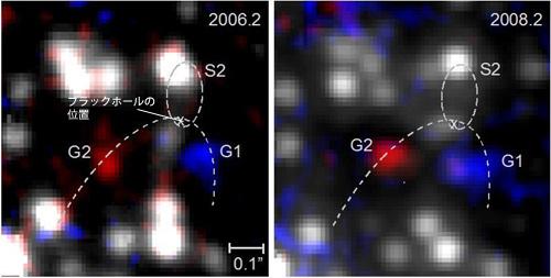 ブラックホール通過のガス雲は長大なガス流の一部?