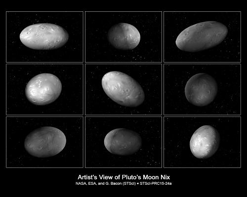 冥王星の衛星「ニクス」と「ヒド...