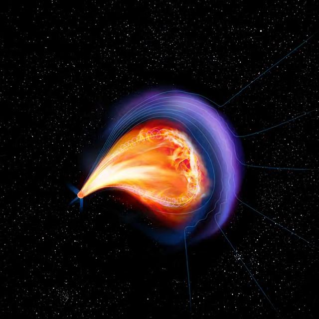 【天文学】赤色超巨星に予想外の強力な磁場 ->画像>11枚