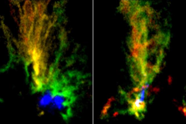 「2羽の孔雀」分子雲