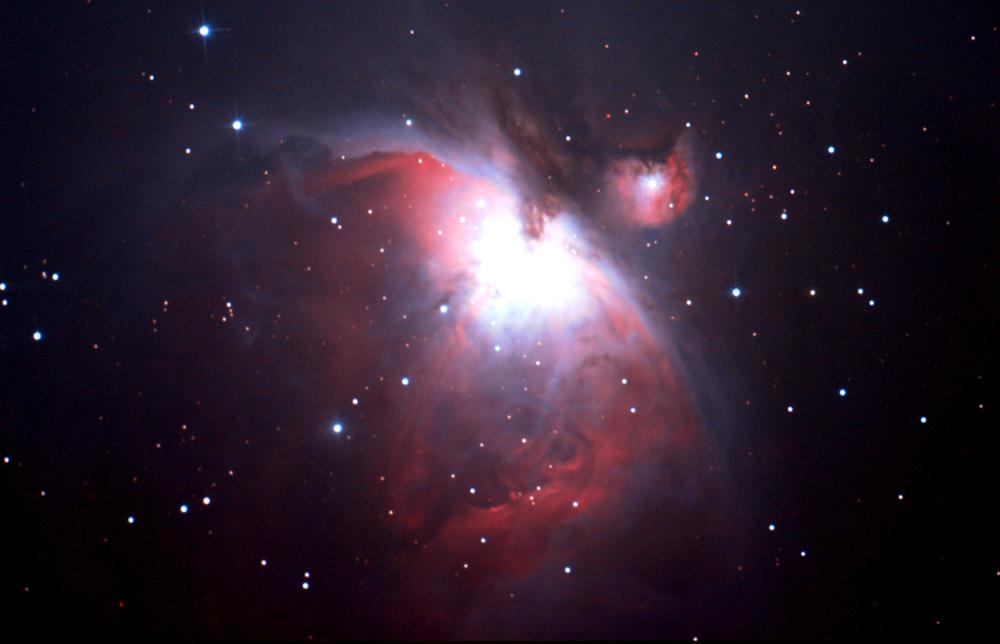 (M42 オリオン大星雲の写真) Kiss Digitalによる作例(M77、オリオン大星雲)