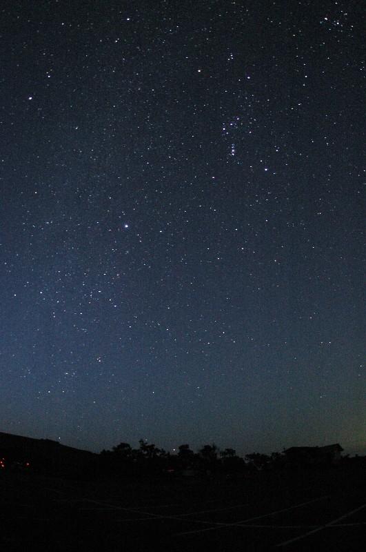 (冬の星(アルデバランからカノープスまで)の写真) タイトル: 「冬の星たち(アルデバランからカ