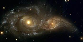 NGC 2207&IC 2163