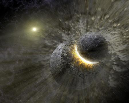 冥王星サイズの天体の衝突の証拠など系外惑星関連ニュースが目白押し