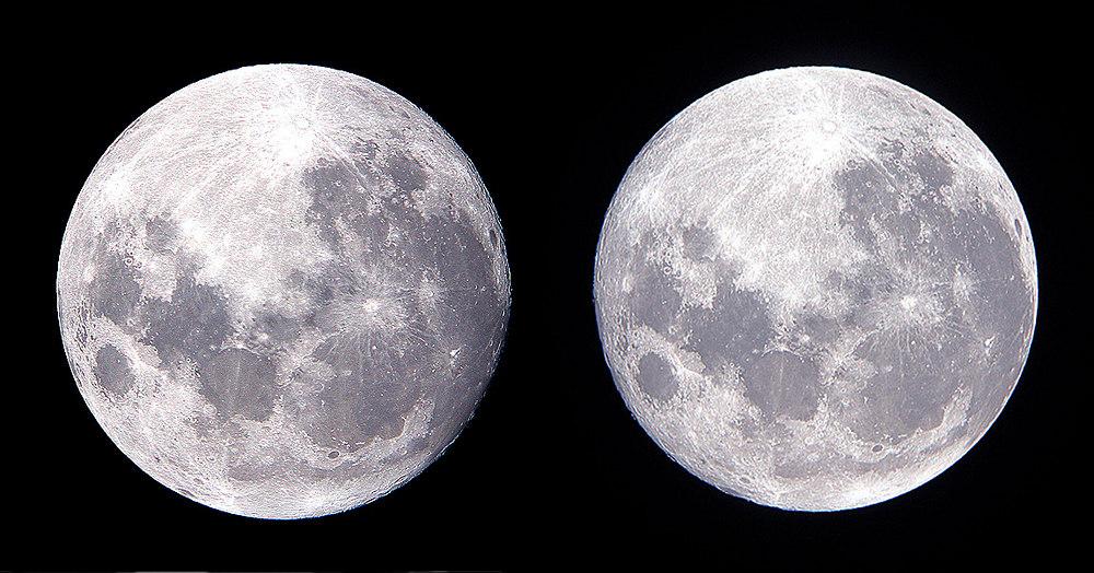 (浦辺守氏撮影の月の写真) タイトル: 「中秋の名月」 撮影者: 浦辺 守 撮影日時: 2005
