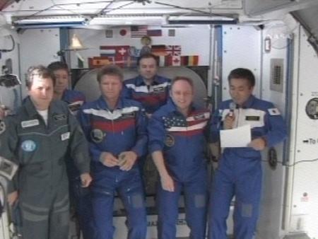 若田さん、国際宇宙ステーション...