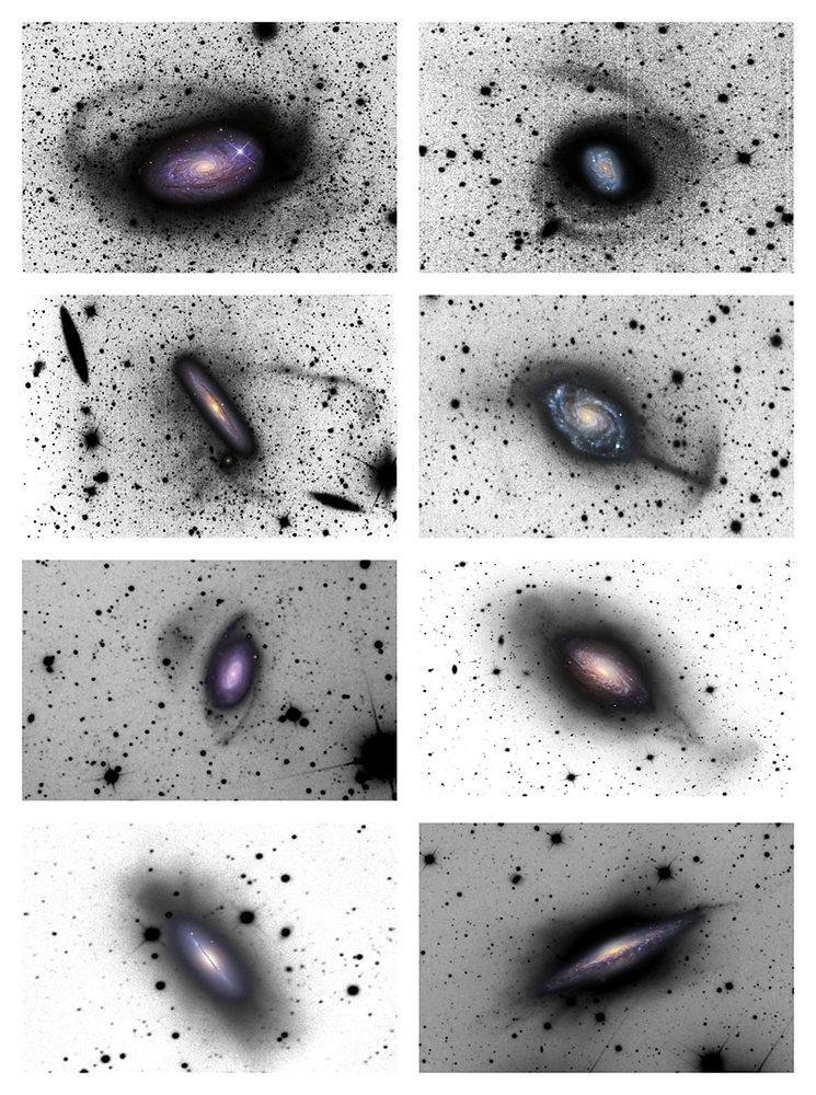 星を見る・宇宙を知る・天文を楽しむ AstroArts天文ニュース複数の渦巻銀河に見つかった進化の痕跡
