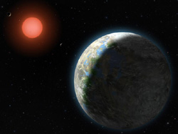 グリーゼ581の惑星軌道