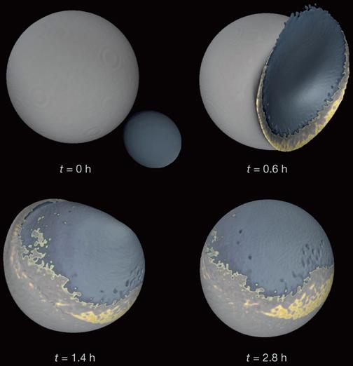 星を見る・宇宙を知る・天文を楽しむ AstroArts天文ニュース地球の月は、はじめ2つあった?