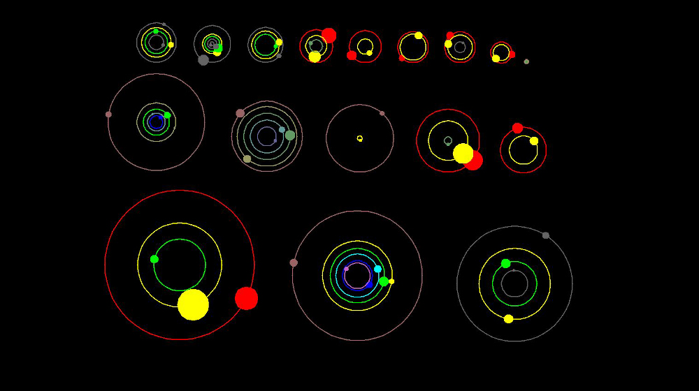 different solar systems in our galaxy-#21