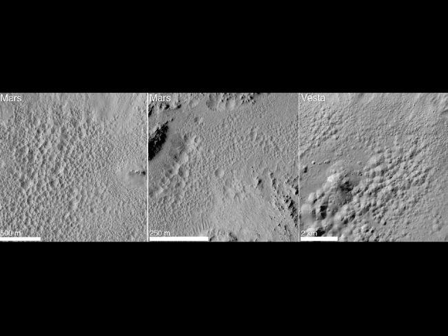 小惑星ベスタで水の痕跡を発見
