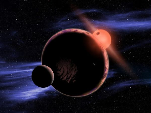 赤色矮星のハビタブルゾーンに地...