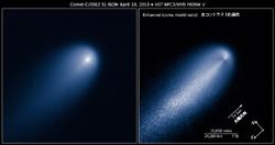 4月10日のアイソン彗星