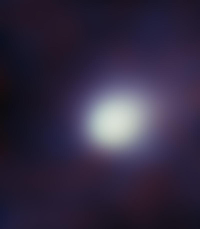 すばる望遠鏡が撮影したアイソン彗星 すばる望遠鏡が撮影したアイソン彗星の中間赤外線像(擬似カラー