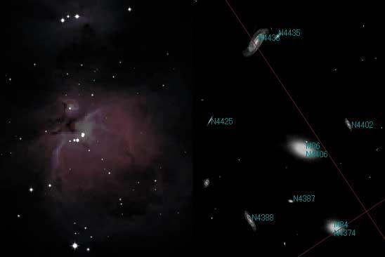 豊富な天体データ ステラナビゲータに収録された天体の数は、天文シミュレーションソフトウェ...
