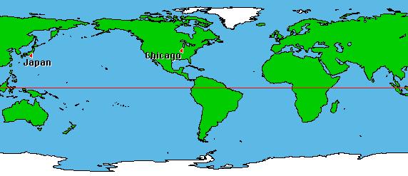 world map us