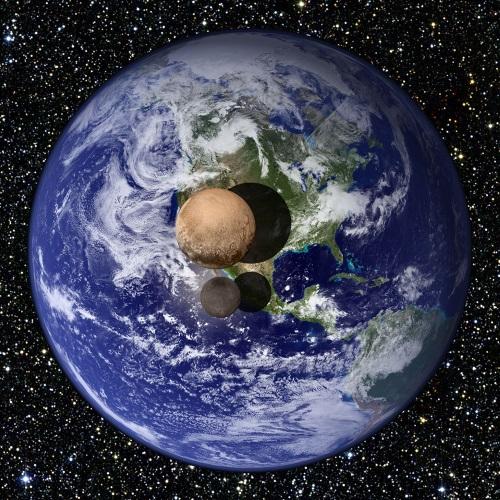 従来より「大きくなった」冥王星 - アストロアーツ