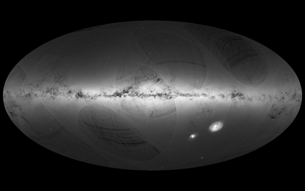 10億個以上の星を記録、「ガイア...