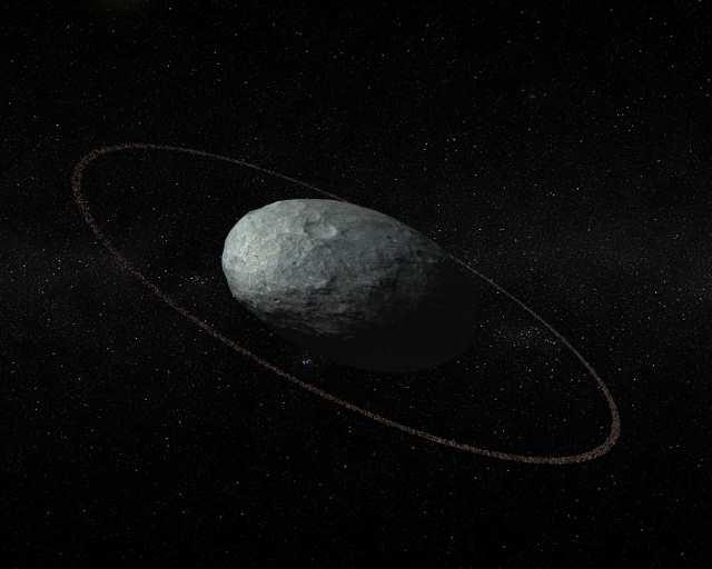 準惑星ハウメアに環 - アストロアーツ