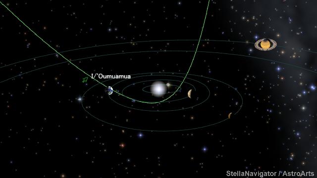 観測史上初の恒星間天体、名前は...