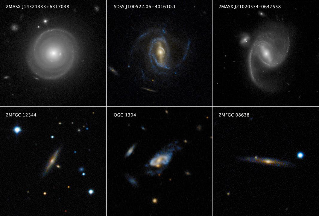 超高速で回転する超大型渦巻銀河 - アストロアーツ