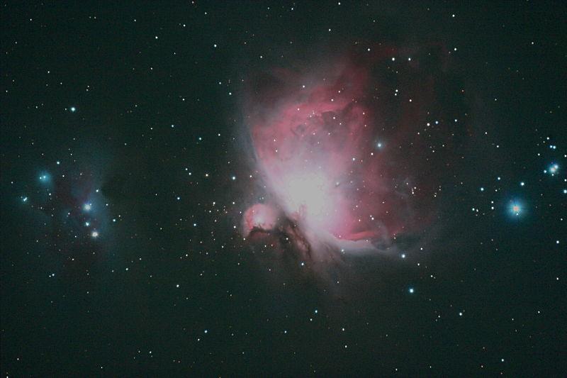 オリオン大星雲、ペルセウス座の二重星団