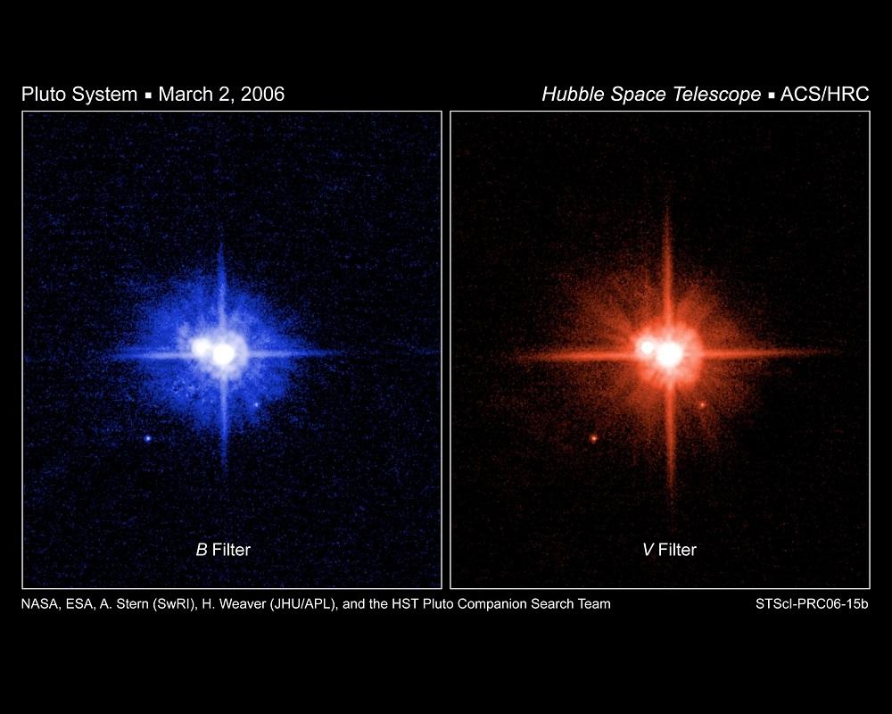 冥王星の衛星、3つに