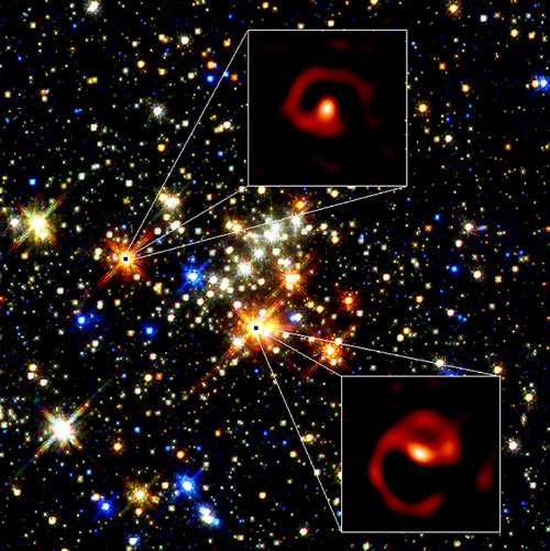 二人羽織の大質量星
