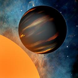 系外惑星からのスペクトルが初め...