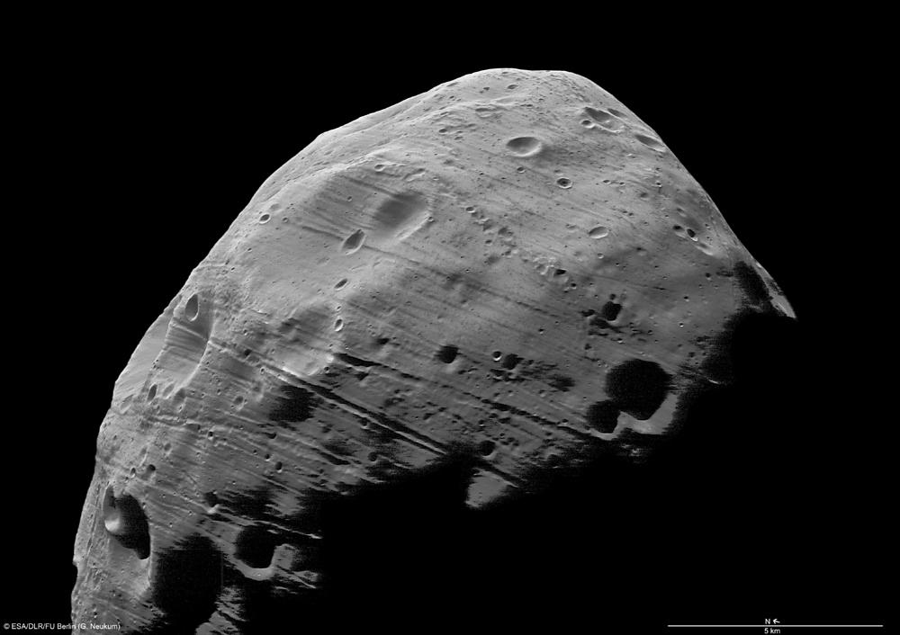 マーズ・エクスプレス、火星の衛...