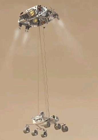 火星探査車「マーズ・サイエンス・ラボラトリー」の打ち上げ延期