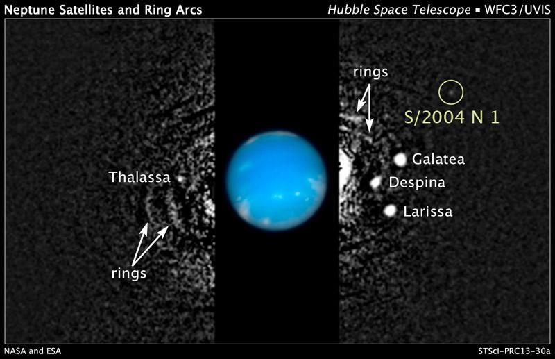 海王星に14個目の新衛星を発見