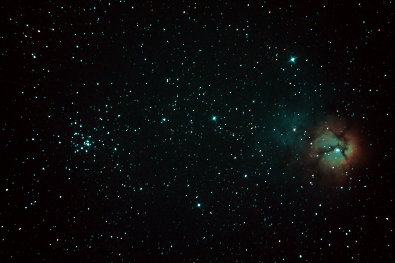 32637: M20、M21 by 銀河鬼太郎 ...
