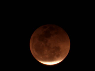 月食ライブ中継-写真レポート